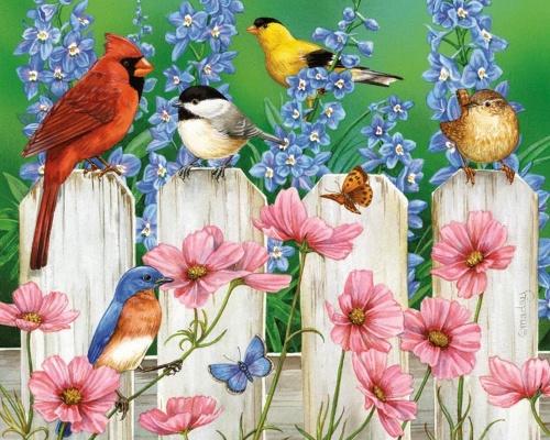 Художник-иллюстратор Jane Maday (69 работ)