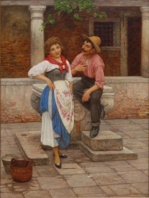����������� �������� Luigi Pastega (Venice, 1858-1927) (25 �����)