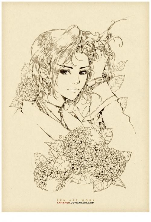 Иллюстратор Nguyen Thanh Nha (131 обоев)