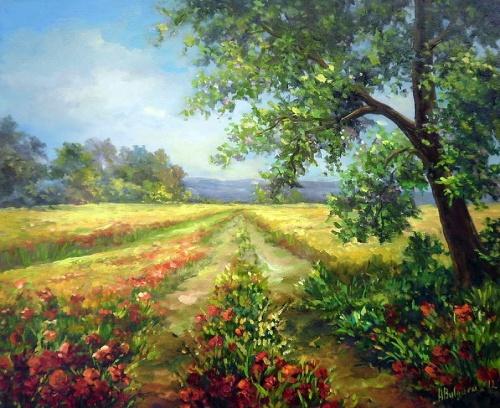 Румынский художник Anca Bulgaru (199 работ)