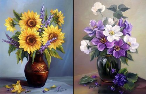 Румынский художник Anca Bulgaru (199 обоев)