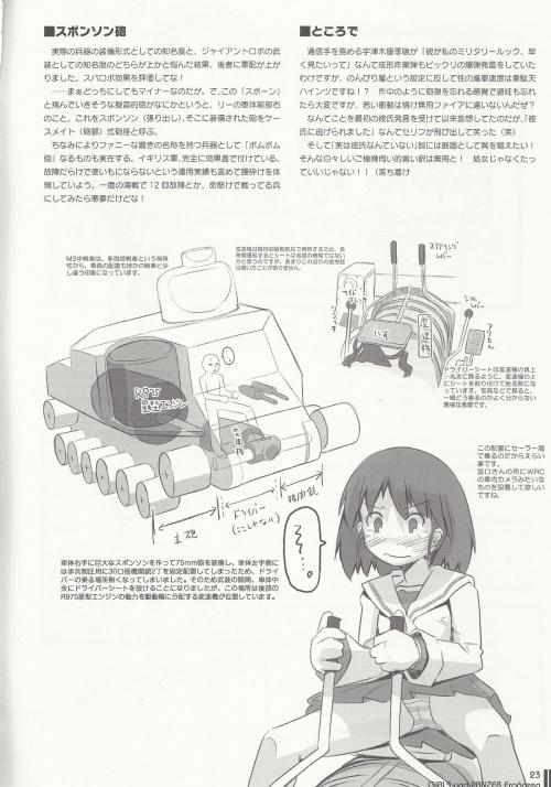 """Три артбука из серии """"Girls und Panzer"""" (110 обоев)"""