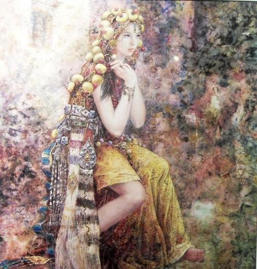 Необычные картины Chen Chong Ping (40 работ)