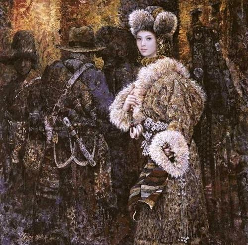 Необычные картины Chen Chong Ping (40 обоев)