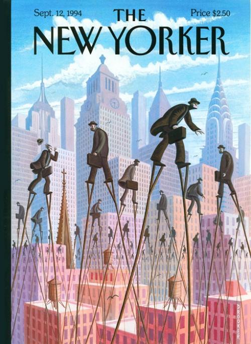 Covers magazine New Yorker   Обложки журнала New Yorker (136 обоев)