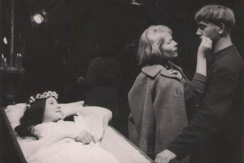 Редкие кадры со съемок культовых советских фильмов (22 обоев)