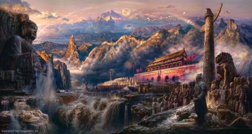 Работы Cao Yong (66 обоев)