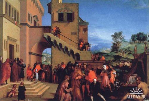 Классическая живопись Andrea del Sarto (17 обоев)