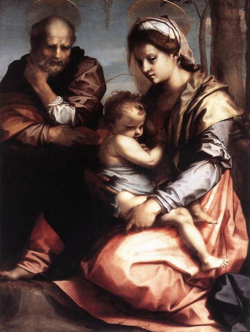 Классическая живопись Andrea del Sarto (17 работ)