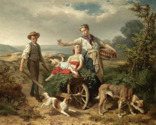 Художник Theodore Gerard (1829 – 1895, Belgian) (39 работ)