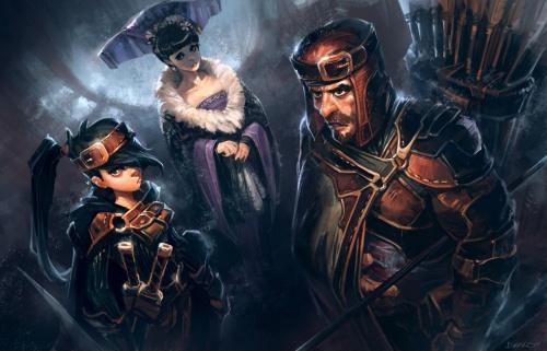 BioShock Infinite Concept Art (71 обоев)