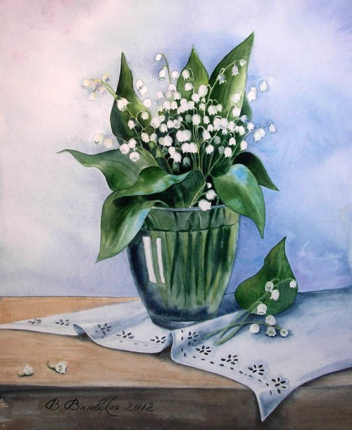 Акварель Валентины Валевской (61 обоев)