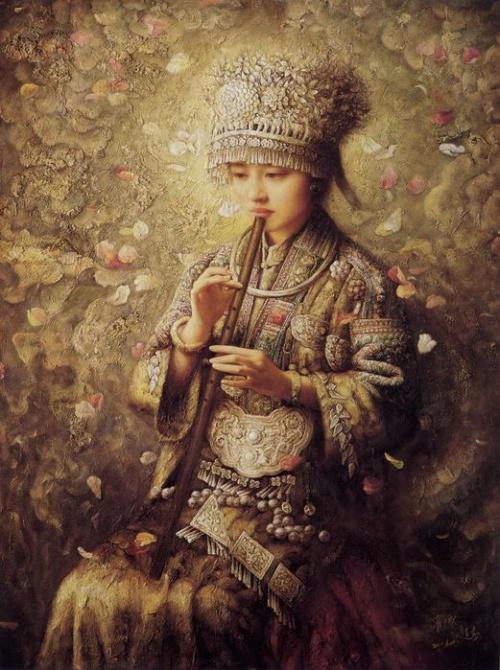 Работы художника ЧЖАО ЧУН (ZHAO CHUN) (19 обоев)