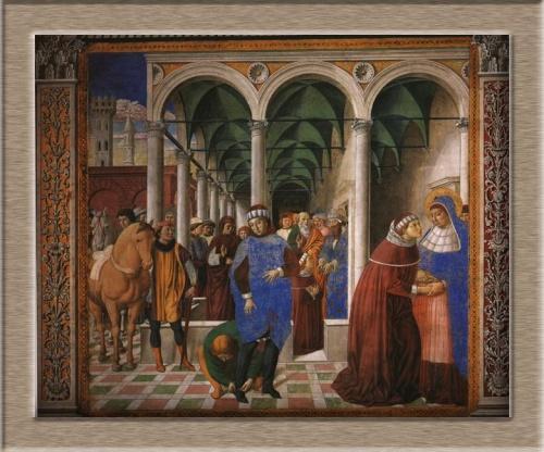 Живопись художника Беноццо Гоццоли (Benozzo Gozzoli 1420—1497) (35 работ)