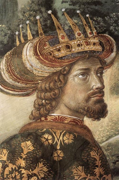 Живопись художника Беноццо Гоццоли (Benozzo Gozzoli 1420—1497) (35 обоев)
