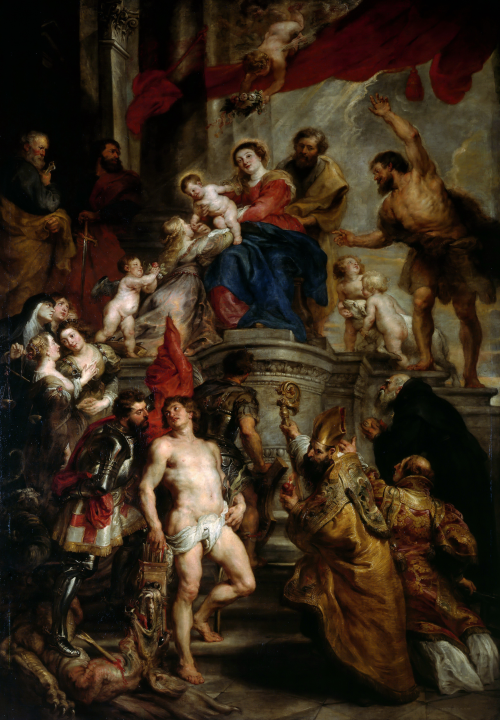 Artworks by Peter Paul Rubens. Часть 3