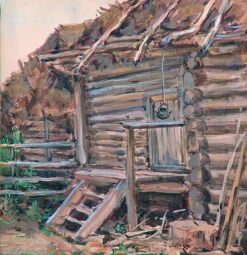 Акварели Архангельского Дмитрия Ивановича (1885-1979) (13 работ)