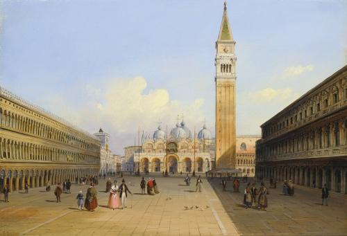 Работы художника Carlo Grubacs (Italian, 1810-1870) (40 обоев)