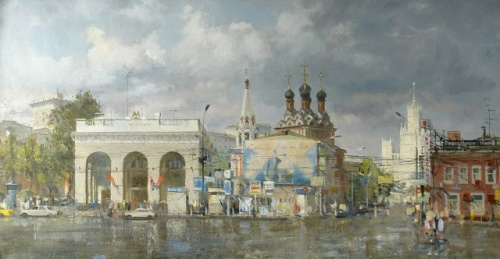 Живопись Олега Леонова (26 обоев)