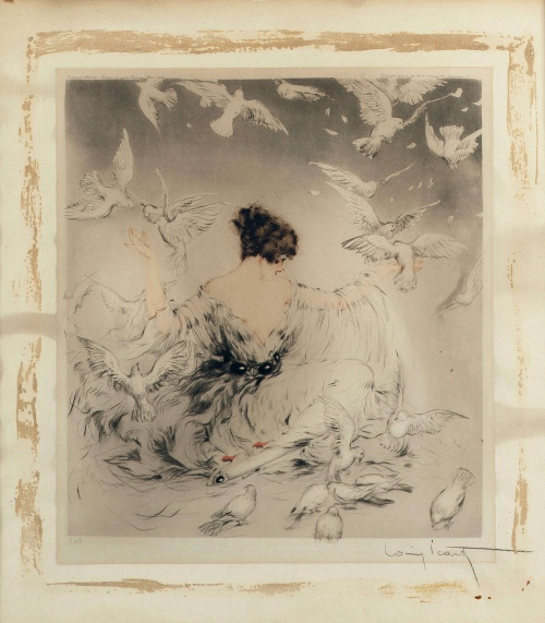 Artworks by Louis Icart (1888-1950) (305 обоев)