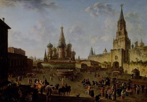 Работы художника Алексеева Федора Яковлевича (1753-1824) (19 обоев)