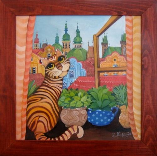 Художник Zuzana Honsovа (36 обоев)