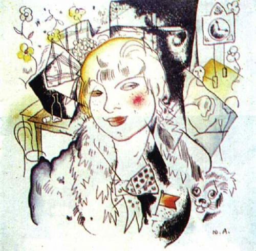 Работы художника Анненкова Юрия Павловича (1889-1974) (10 обоев)