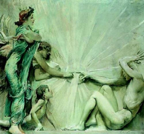 Художник Giulio Aristide Sartorio (1860–1932) (41 работ)