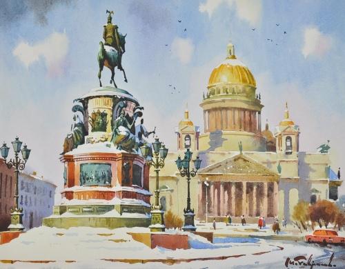 Художник Модест Гаврилов (Modest Gavrilov) (14 обоев)