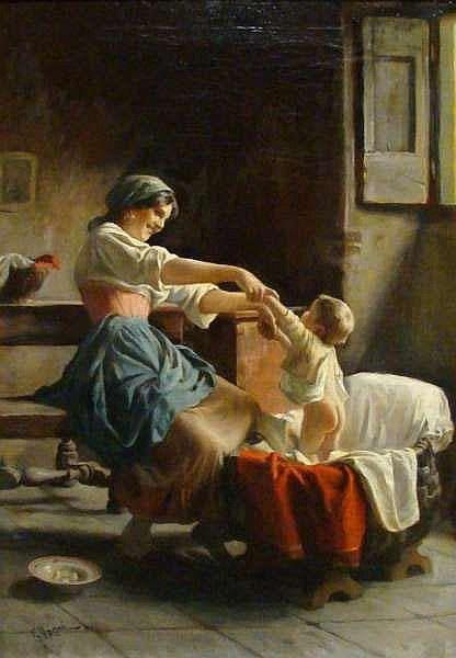 Giuseppe Magni (1869-1956, Italian) Fine Art at 1stdibs (27 обоев)