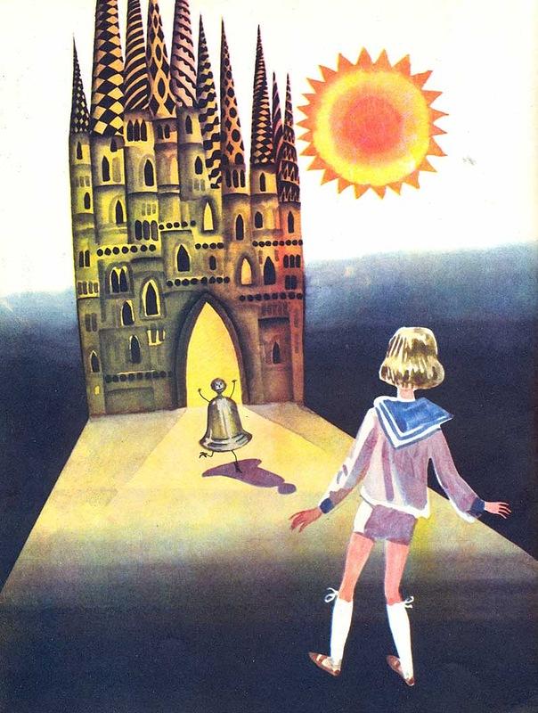 Картинка раскраска городок в табакерке 187