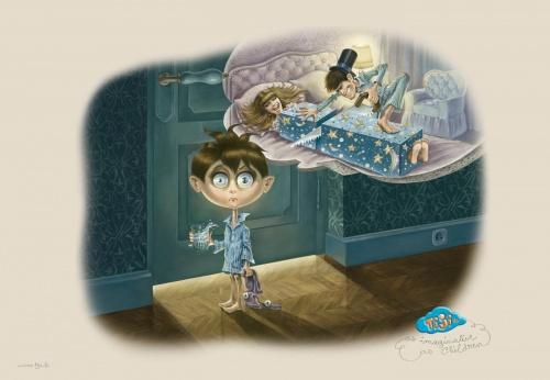 Иллюстраторы - наши современники - Pierrette Diaz (Пьеретта Диаз) - Мир взрослых глазами детей (6 работ)