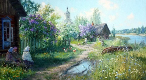 Работы художника Владимира Юрьевича Жданова (149 обоев)