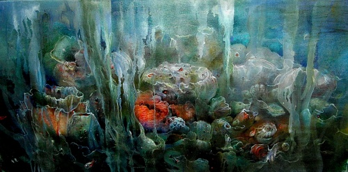 Работы художницы Рудзиной Наталии (14 обоев)