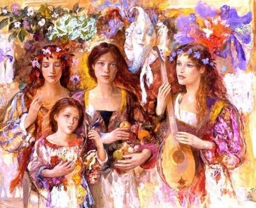 Живопись Goyo Dominguez (48 работ)
