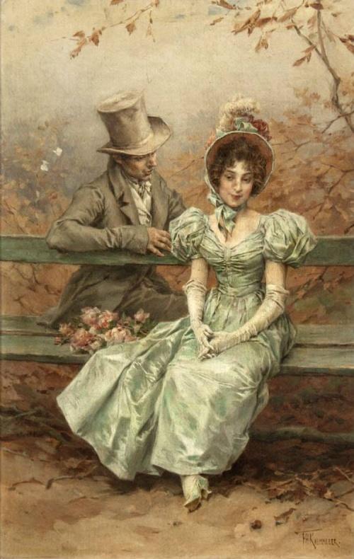 Голландский живописец Frederik Hendrik Kaemmerer. Жанровые сценки (26 работ)