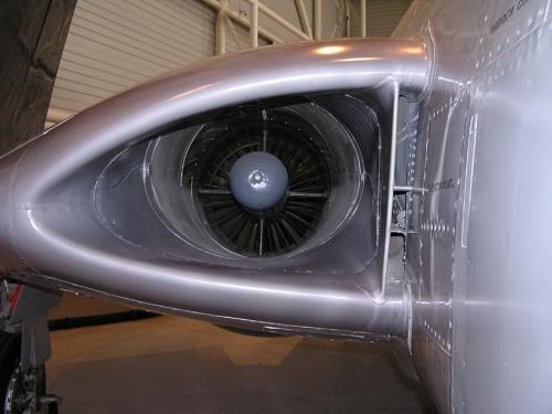 Американский палубный истребитель McDonnell F2H-3 Banshee (44 фото)
