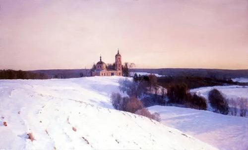 Душевные русские пейзажи Юрия Мокшина (13 работ)