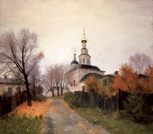Душевные русские пейзажи Юрия Мокшина (13 фото)