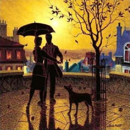 Denis Nolet. Танго под дождём (40 работ)