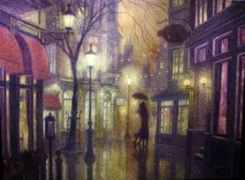 Denis Nolet. Танго под дождём (40 фото)