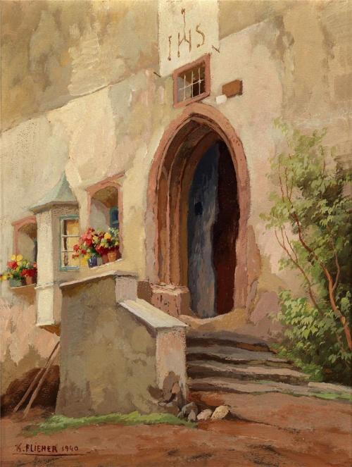 Картины австрийского художника Karl Flieher (11 работ)