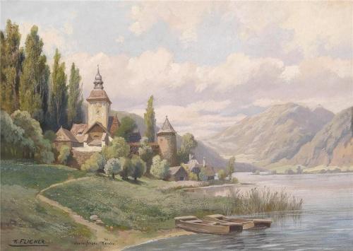 Картины австрийского художника Karl Flieher (11 фото)