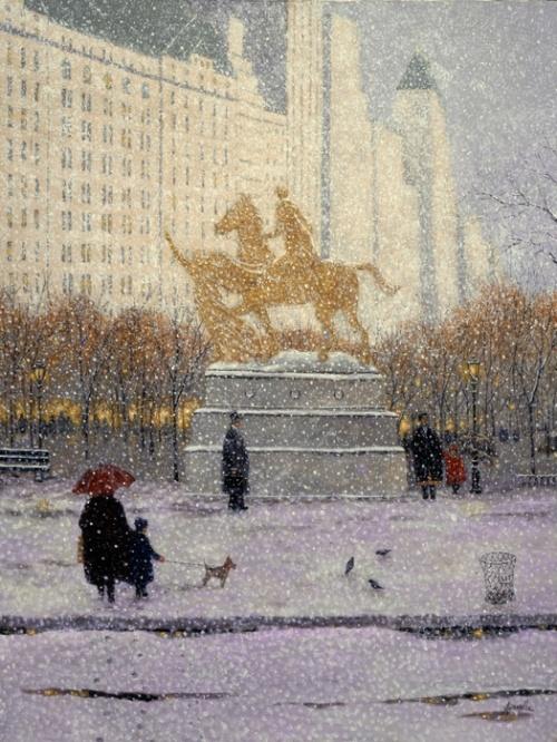 Работы американского живописца Ренуара - Patrick Antonelle (22 работ)