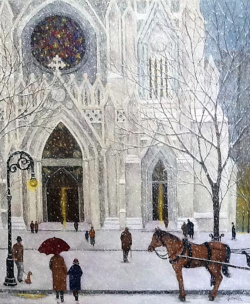 Работы американского живописца Ренуара - Patrick Antonelle (22 фото)