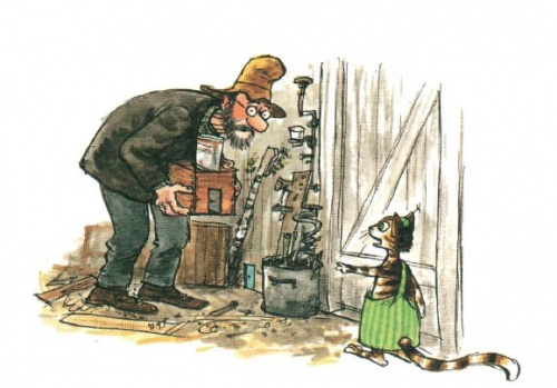 Иллюстраторы - наши современники - шведский иллюстратор и писатель Sven Nordqvist (Свен Нурдквист) (236 фото)