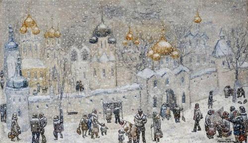 Художник Василий Яковлевич Ситников (19 работ)
