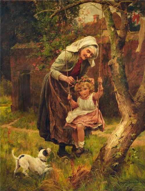 Английский художник George Hillyard Swinstead (1860-1926) (32 работ)