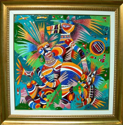 Жизнерадостные картины Юрия Горбачева (94 работ)