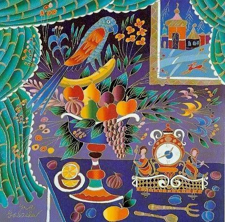 Жизнерадостные картины Юрия Горбачева (94 фото)
